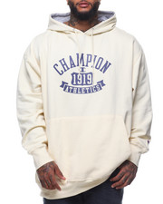 Champion - L/S Graphic Fleece Pullover Hoodie (B&T)