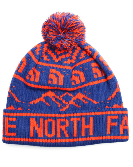 Buy Fair Isle Pom Pom Beanie Women's Accessories from The North ...