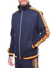 Track Jackets - 3M STRIPE TRACK JACKET