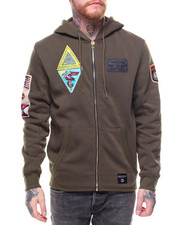 SWITCH - Military Full Zip Hoodie