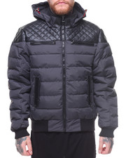 Buyers Picks - MOJO HOODED QUILTED YOKE JACKET