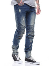 Jeans & Pants - Pleated Knee Jeans