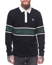 Men - L/S Pete Rugby Polo