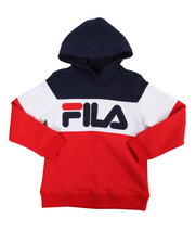 Sizes 8-20 - Big Kids - Heritage Color Block Hoodie (8-20)-2151762