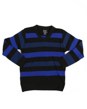 Sweaters - Multi-Color Stripe Sweater (8-20)