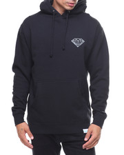 Diamond Supply Co - L/S Fine Diamond Lyrics Pullover Hoodie