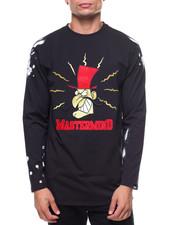 T-Shirts - Mastermind L/S Tee w Rhiinestones