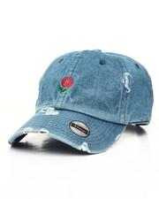 Men - Distressed Rose Dad Hat