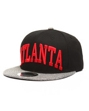 Hats - Heather Grey Brim Atlanta City Snapback