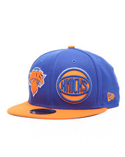 NBA, MLB, NFL Gear - 9Fifty New York Knicks Y2K NE Double Whammy Snapback