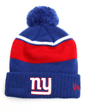 NBA, MLB, NFL Gear - New York Giants Callout Cuff Pom Pom Beanie