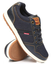 Levi's - Lennox Millstone Denim Low Sneakers