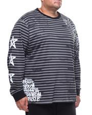Shirts - L/S Stripe Tee (B&T)-2153848