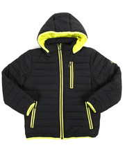 Boys - Bubble Bomber Hooded Jacket (8-20)