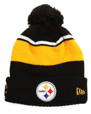 NBA, MLB, NFL Gear - Pittsburg Steelers Callout Cuff Pom Pom Beanie