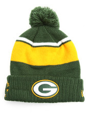 NBA, MLB, NFL Gear - Green Bay Packers Callout Cuff Pom Pom Beanie