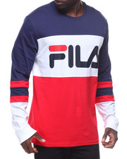 Fila - L/S Dylan Rugby Logo Tee