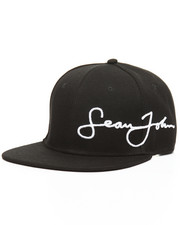 Sean John - Core Script Embroidered Logo Snapback-2154165