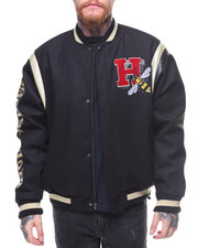 Hudson NYC - BEAST MODE SPARKLE VARSITY JACKET