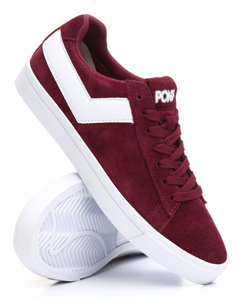 PONY - Top Star Lo Core Suede Sneakers