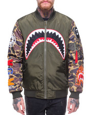 Hudson NYC - AKA Camo Flight Jacket