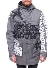 Light Jackets - Zip Graffiti Jacket