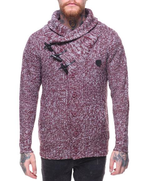Parish - Shawl Sweater w Toggle