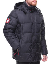 Heavy Coats - Down Bubble Jacket w Hood