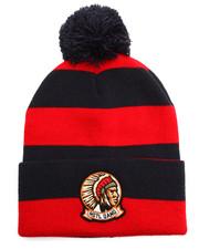 Men - Arrowhead Pom Knitted Hat