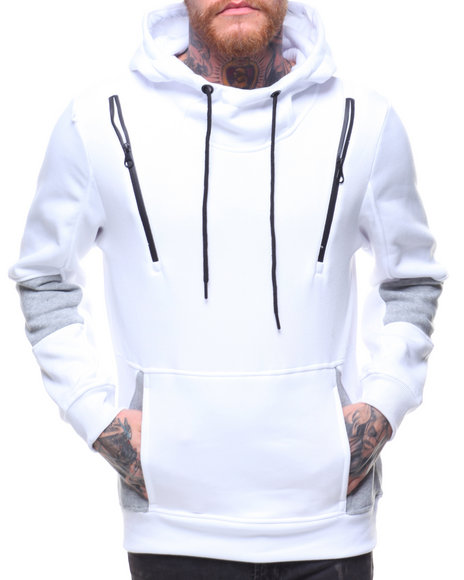 Buyers Picks - Fleece Hoody w Neoprene Zipper