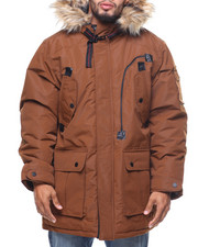 Rocawear - Heavy Taslan Fur Hooded Jacket (B&T)