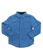 DKNY Jeans - L/S Chambray Fleck Woven (4-7)