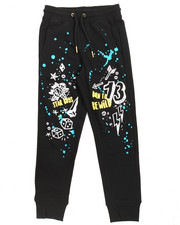 Sweatpants - Doodle French Terry Joggers (8-20)