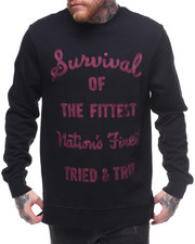 Parish - Survival Embroidered Crew Sweatshirt