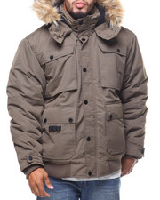 Rocawear - Fur Hooded Bomber Jacket (B&T)