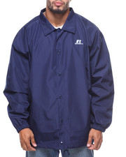 Russell Athletics - Coaches Heavy Nylon Jacket (B&T)-2155214