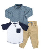 Sizes 2T-4T - Toddler - DK Bridge 3 Piece Set (2T-4T)