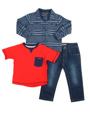 Sizes 2T-4T - Toddler - Transition 3 Piece Set (2T-4T)