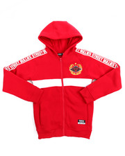 Hoodies - Athletic Fleece Full Zip Hoodie (8-20)-2155016