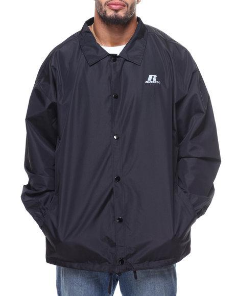 Russell Athletics - Coaches Heavy Nylon Jacket (B&T)