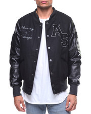 Buyers Picks - PU Sleeve Varsity Jacket