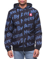 Hudson NYC - BY ANY MEANS NYLON ZIP HOODY