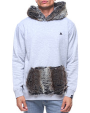 Hoodies - Faux Fur Hoodie
