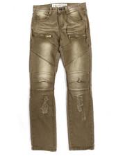 Arcade Styles - Fashion Moto Twill Jeans (8-20)