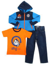 Sizes 2T-4T - Toddler - 3 Piece Jacket Set (2T-4T)