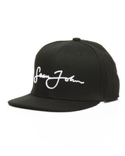 Accessories - 3D Emboidered Script Logo Snapback Hat
