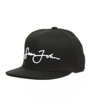 Sean John - 3D Emboidered Script Logo Snapback Hat