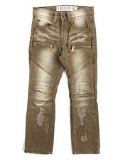 Jeans - Fashion Moto Twill Jeans (4-7)