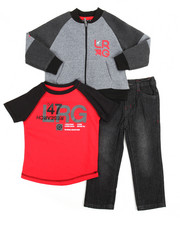 LRG - 3 Piece Jacket Set (2T-4T)