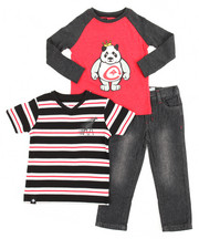 Sizes 2T-4T - Toddler - 3 Piece Knit Set (2T-4T)